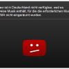 Streit zwischen GEMA und Youtube eskaliert weiter